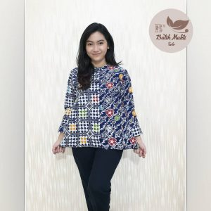 NAVIE BLOUSE POLENG 1