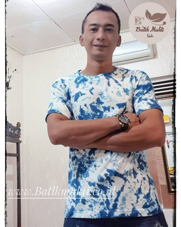 T-shirt Kaos Tie dye unisex dewasa